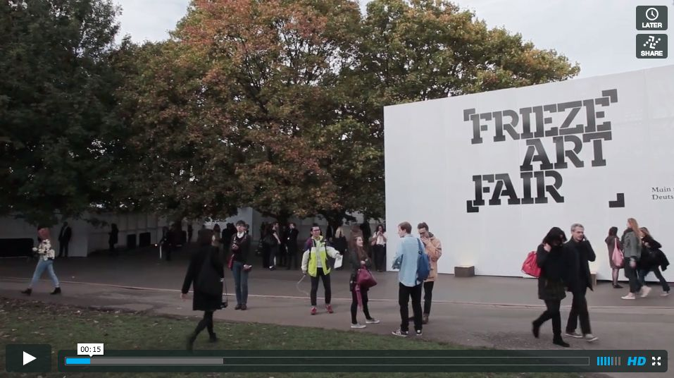Interview with Angelo Plessas at Frieze 2013