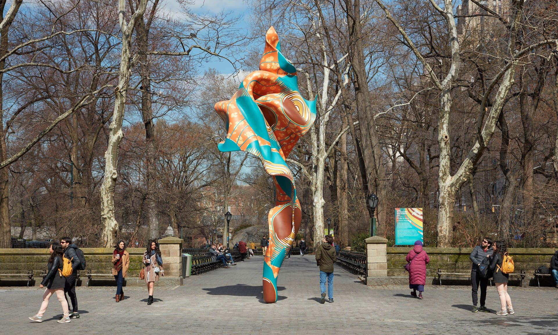 Yinka Shonibare Sculpture Unveiled in Central Park