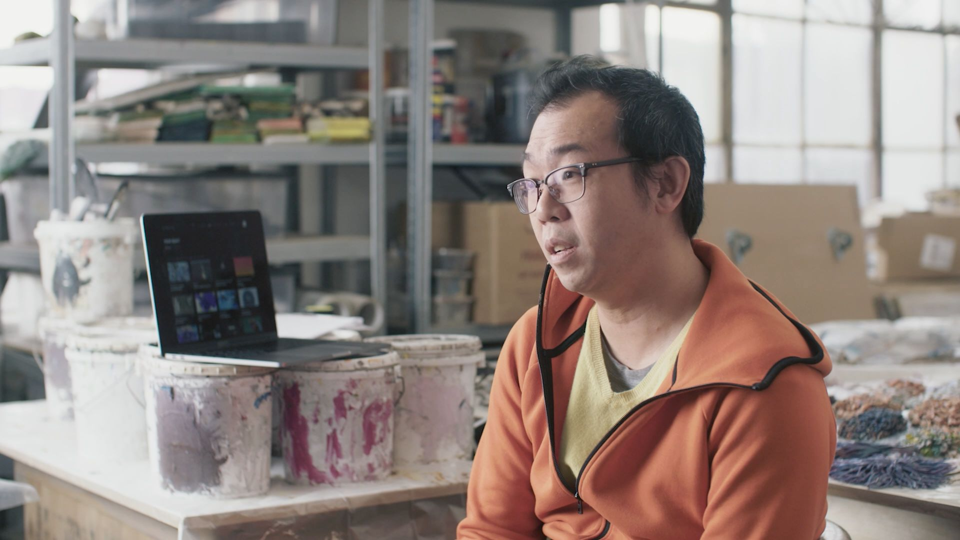 New Welcome video featuring artist Gordon Cheung and New Mobile Features