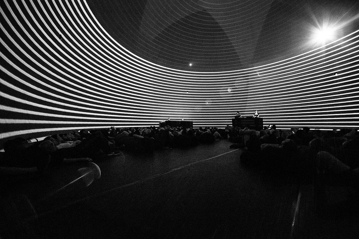 Audiovisual Performance at MUTEK Montréal