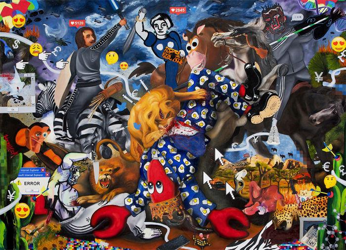 Philip Colbert: Unit London at Saatchi Gallery