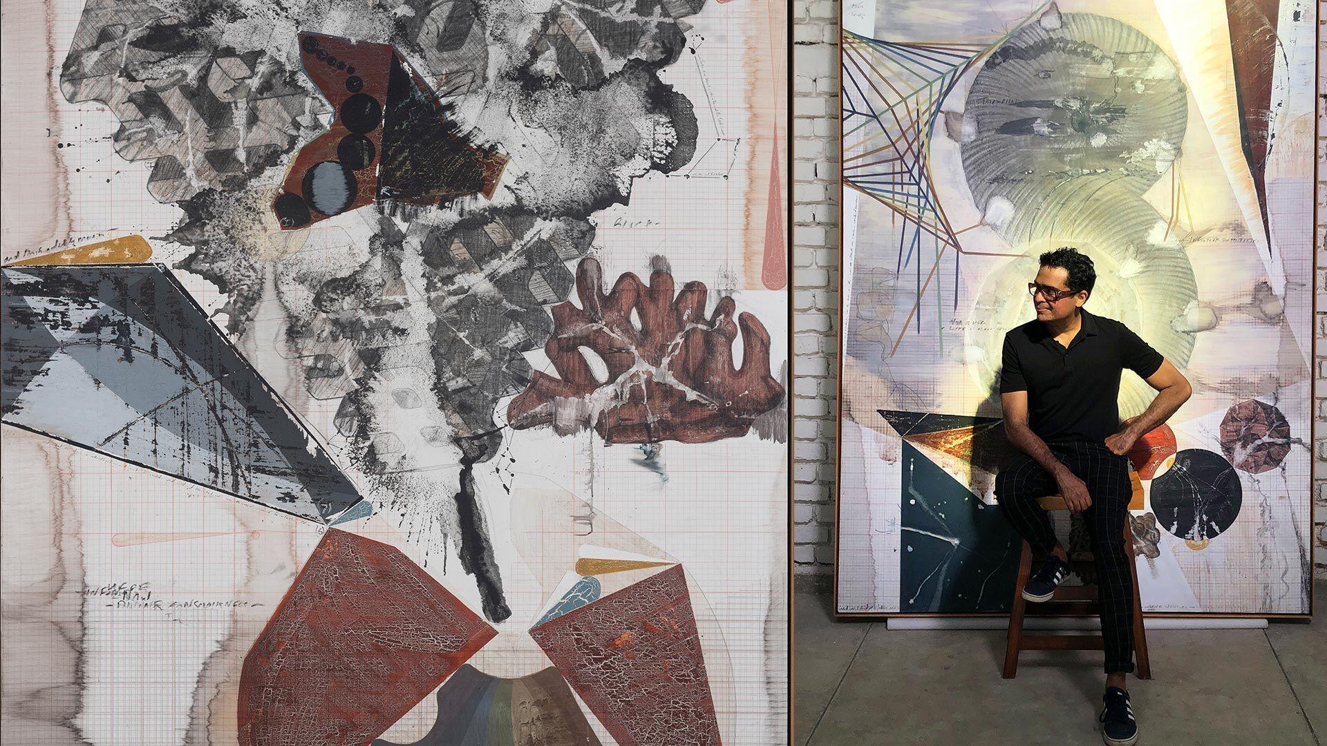 Jitish Kallat: Phase Transition at Galerie Templon
