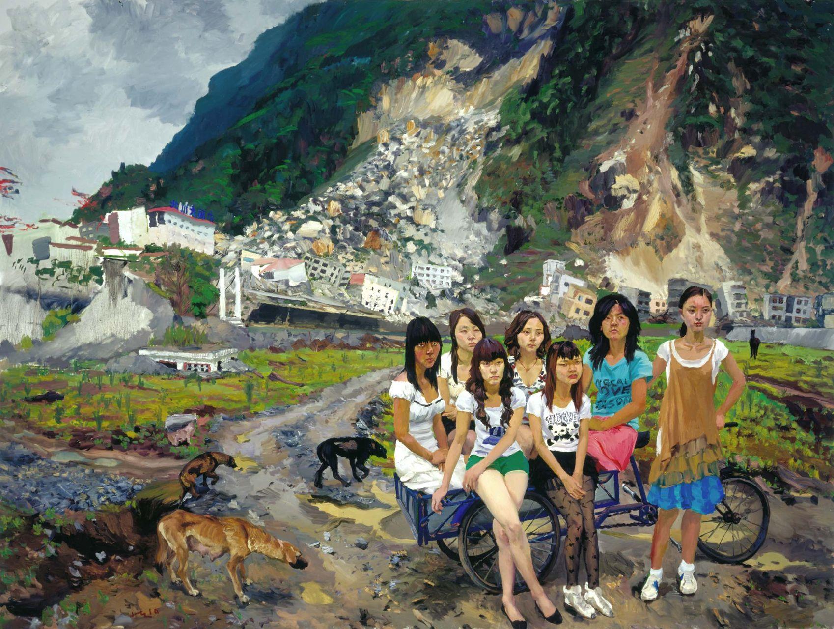 Liu Xiaodong: Painting as Shooting at Fondazione Giorgio Cini in Venice