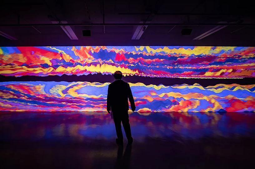 Miguel Chevalier: Oscillations 2020