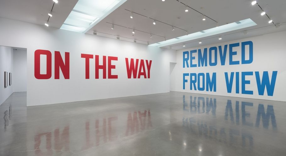 Lawrence Weiner: On View