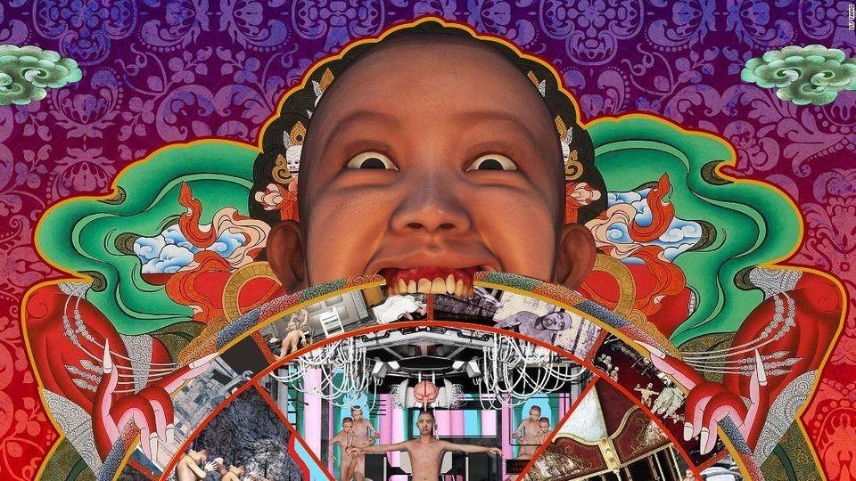 Live Virtual Performance - Delusional World: Lu Yang