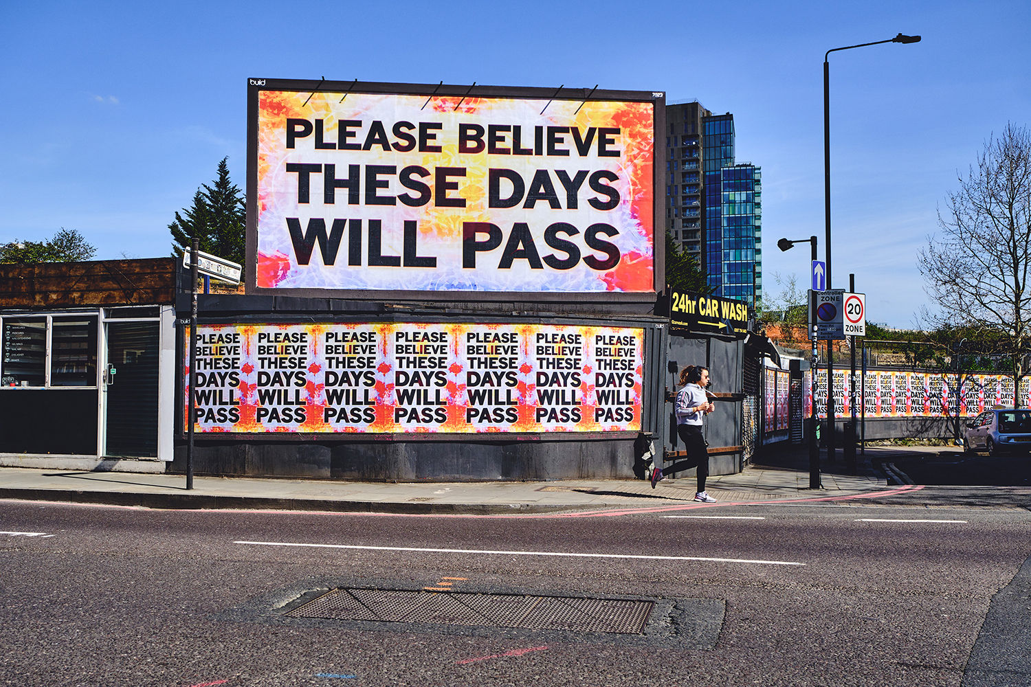 Mark Titchner: Please Believe These Days Will Pass