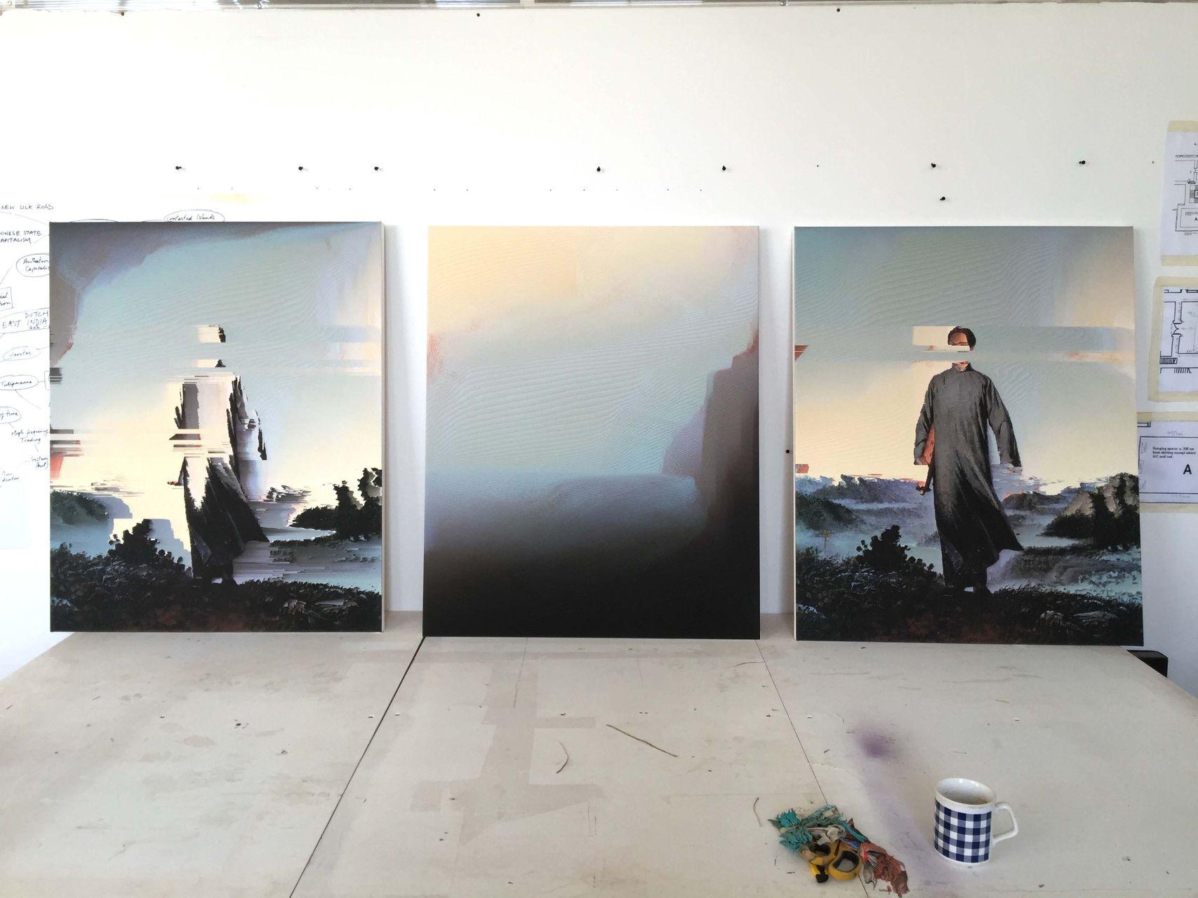 Gordon Cheung International Exhibitions in Spring 2016