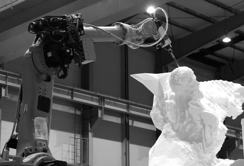 Quayola presents Sculpture Factory at Ars Electronica
